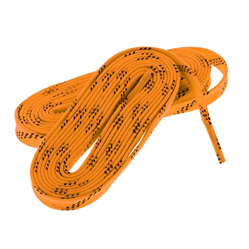 Baoblaze 2 Pedazos de Cordónes de Zapatos de Hockey de Nylón Multiusos para Deportista Multiusos Unisexo Botas