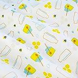 Emily&Joe's fabrics 100% Baumwolle Stoff Meterware Milch
