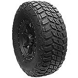 Terra Raider MT KU-255 Mud-Terrain Radial Tire-33X12.50R17LT 120Q 10-ply