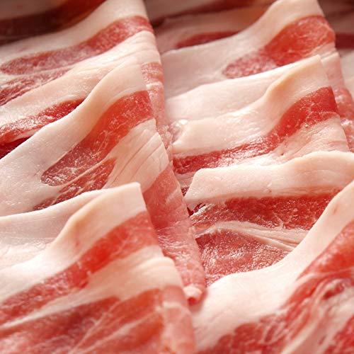 オリーブ豚バラスライス300g 《*冷凍便》