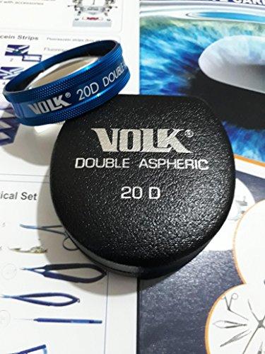 Volk 90D lente de diagnóstico sin contacto en caso original Volk US