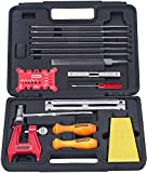 Oregon Chainsaw Chain Sharpening Kit with Hard Case - Contains Files, Handles, Depth Gauge, Stump...