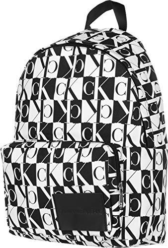 Calvin Klein Jeans Herren Rucksack Essentials Print CP BP 45 weiß One Size