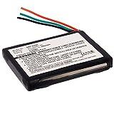 subtel Batería de Repuesto 361-00041-00 Compatible con smartwatch Garmin Forerunner 310XT, 600mAh Accu Battery Pack