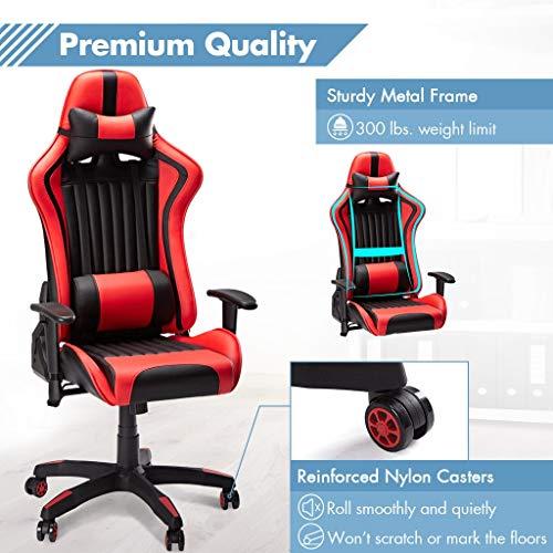 SLYPNOS Gaming Stuhl Racing Stuhl Bild 3*