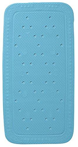Kleine Wolke Calypso 2-teilig Badewanneneinlage Set mit Nackenkissen, blau, 72 x 36 cm