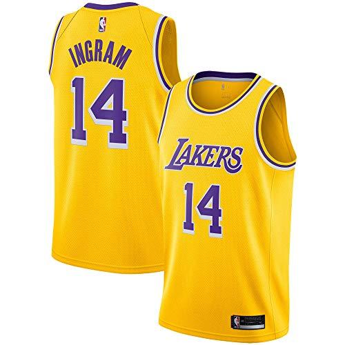 Brandon Ingram Los Angeles Lakers #14 Youth 8-20 Yellow Icon Edition Swingman Jersey (8)