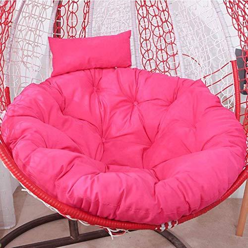 El columpio Cesta colgante del amortiguador de asiento, espesan la silla colgante de huevo Hamaca de ratón resistente al agua Amortiguación de la silla del asiento de jardín del patio, Tamaño: 95x95cm