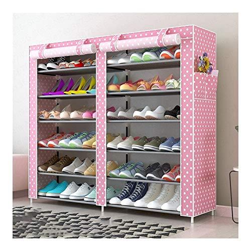 Wlbhb Oxford Tela Impermeable a Prueba de Polvo y Simple de Zapatos Conjunto de Cremallera (Color : Style3)