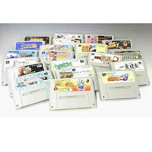 【レトロゲーム】10本 まとめ売り スーファミアソート スーパーファミコン ゲームソフト 任天堂 中古
