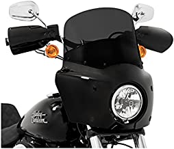Memphis Shades Dark Smoke 11 Inch Windshield for Road Warrior Fairing: Harley Davidson Dyna 2006 and Later (More Size Options)