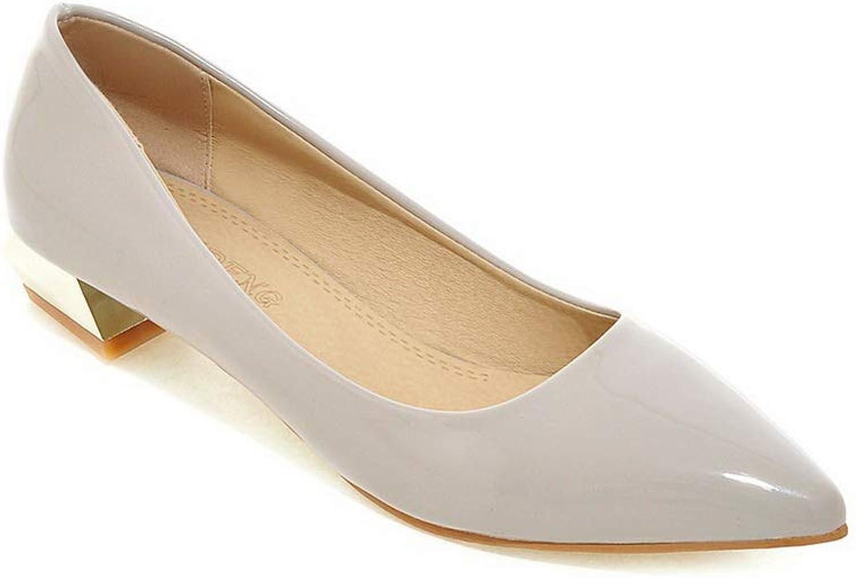 AdeeSu Womens Solid Casual Travel Urethane Pumps shoes SDC05621