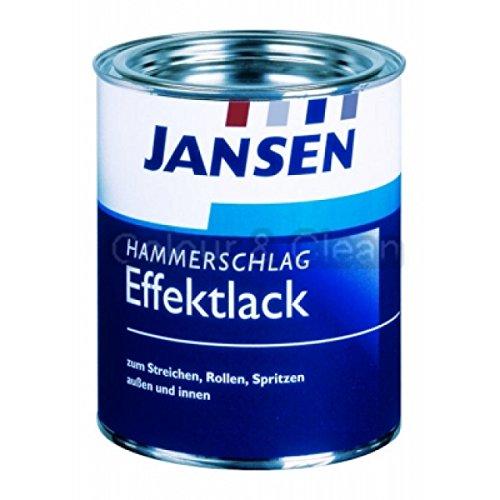 JANSEN Hammerschlag-Effektlack 375ml anthrazit