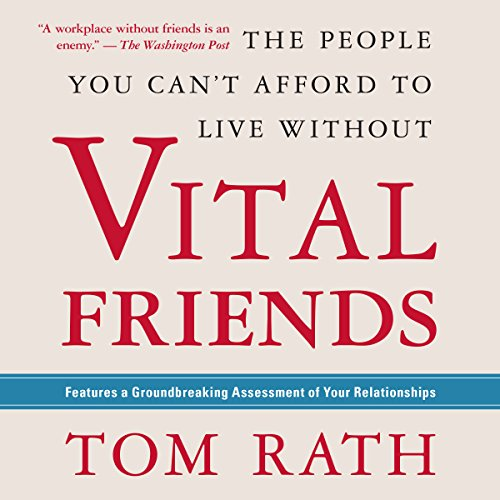 Vital Friends audiobook cover art