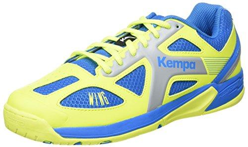 Kempa Jungen Wing JUNIOR Sneakers, Blau (02), 35 EU