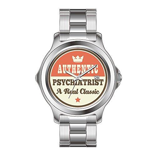 FDC–Navidad Regalo Relojes Mujer Fashion Fecha de Cuarzo japonés Reloj de Pulsera de Acero Inoxidable auténtico psiquiatra un Verdadero clásico Relojes de Pulsera