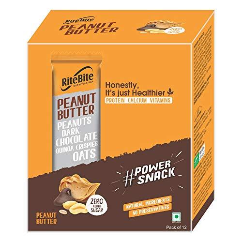 Ritebite Peanut Butter 480 G - Pack of 12