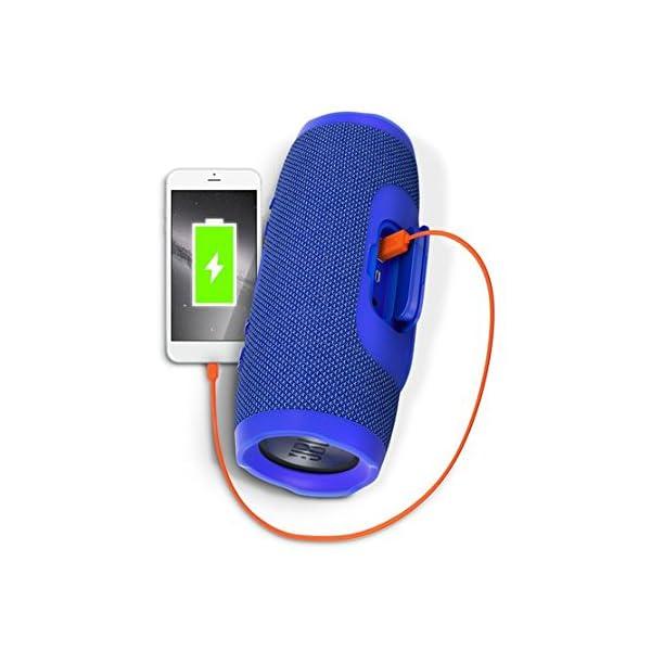 JBL  Charge 3 Waterproof Portable Bluetooth Speaker 6