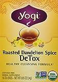 Yogi Organic Roasted Dandelion Spice Detox Tea, 16 Count by Yogi