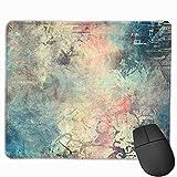 Gaming-Mauspad, Premium-strukturierte Mauspad-Pads, niedliches Mousepad für Spieler, Büro und Zuhause Abstraktes Grün Interessantes Graffiti Bunte rote Wandfarbe Farbe