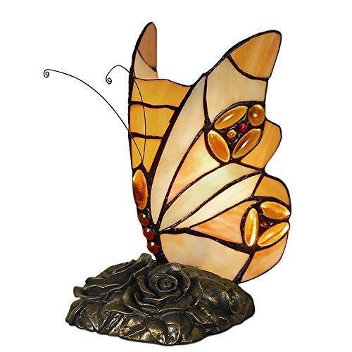 World Art TW60002 Lampes Style Tiffany, Multicolore, 22x13x13 Cm