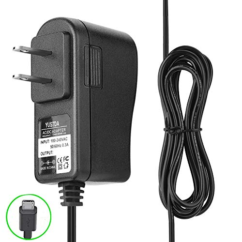Yustda AC/DC Adapter USB Charger Replacement for Zap-It Bug Zapper Power Supply Cord Cable PS Wall Home Battery Charger Mains PSU
