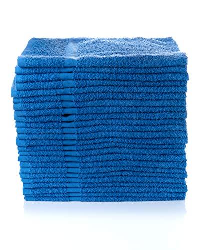 """Simpli-Magic 79198 Hand Towels, 16""""x27"""", Blue 12 Count"""