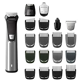 Philips Norelco MG7750/49 Multigroom Series 7000, Men's Grooming Kit with Trimmer for Beard, Silver 1 Count (B07145GM4B) | Amazon price tracker / tracking, Amazon price history charts, Amazon price watches, Amazon price drop alerts