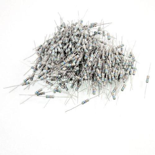 Aexit 500 Pcs Fixed Resistors 350V 1W Watt 560 Ohm 5% axia_l Carbon Single Resistors Film Resistor