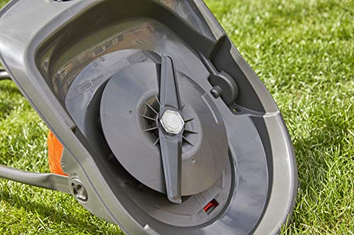 Flymo Turbo Lite 270 Electric Hover Lawn Mower, 1400 W, 27 cm Cutting Width