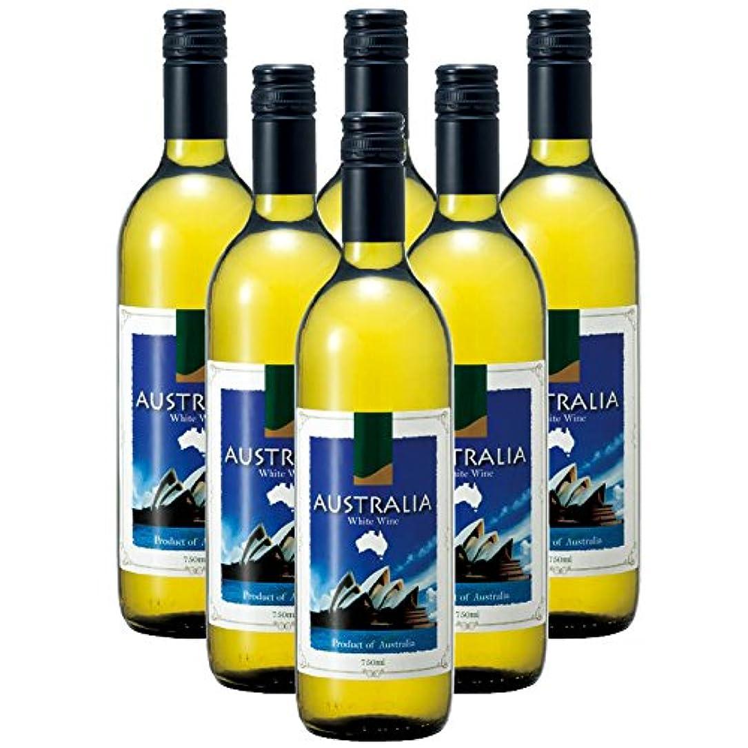 頬虚弱恩赦オーストラリア 土産 オーストラリア 白ワイン 6本 (海外旅行 オーストラリア お土産)