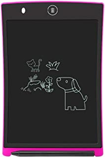 ZAAMBUTECH Writing Tablet Digital Ewriter 8.5 Inch Portable Rugged Drawing Notepad Suitable for Home School Office Memo Notebook (pink)