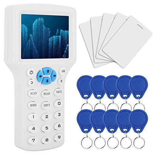 RFID Tarjeta de Identificación de MúLtiples Frecuencias, Kit de Lector de Máquina...