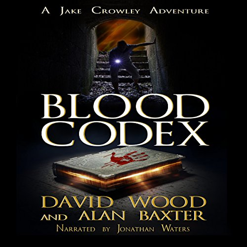 Blood Codex: A Jake Crowley Adventure audiobook cover art