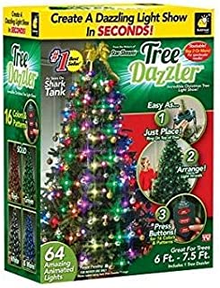TREE DAZZLER 64 Amazing Animated Lights