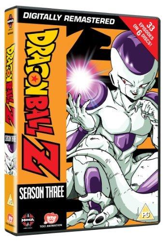 Dragon Ball Z Complete Season Three (Episodes 75-107) [Edizione: Regno Unito] [Import]