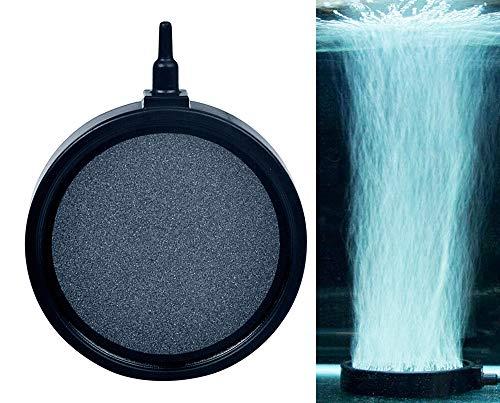 Vansuky 10CM Aquarium Aquarium Ausströmerstein, keramische Luft Stein Diffusoren Tiefe auflösende Sauerstoff Luftpumpe Zubehör Fische aquatische Pet