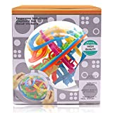 3D Puzzle Ball, 138 Obstacles Maze Ball Interactive Maze Game with Education Toy Sphere Game Ball Boy Gifts