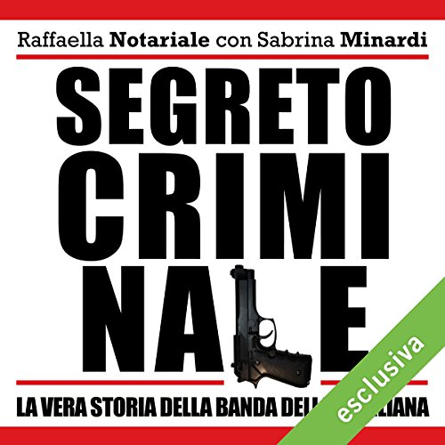 Segreto criminale audiobook cover art