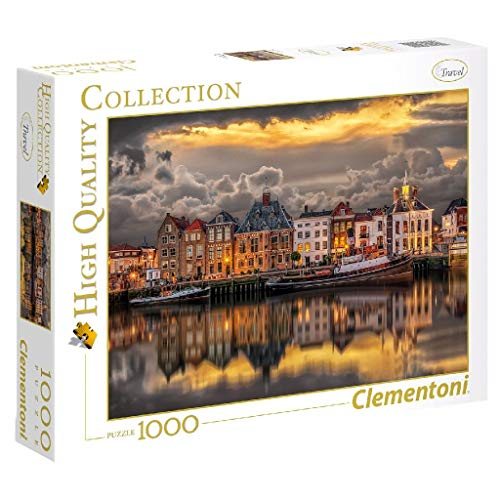 Clementoni-39421 Puzzle 1000 Piezas Dutch Dreamworld (39421.0)