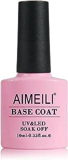 AIMEILI Nutrition Base Coat Soak Off UV LED Gel Nail Polish