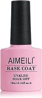 AIMEILI Base Coat Soak Off UV LED Gel Nail Polish