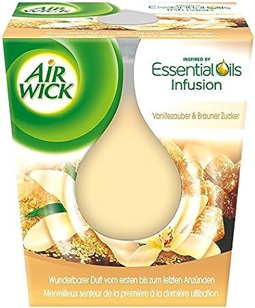 Air Wick Duftkerze Winterlicher Zimt bis zu 40 Stunden 3er Pack 3 x 265g