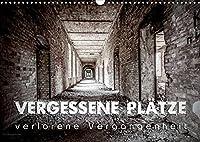 Vergessene Plaetze - verlorene Vergangenheit (Wandkalender 2022 DIN A3 quer): Der Kalender zeigt Orte, die Geschichten erzaehlen und faszinieren (Monatskalender, 14 Seiten )