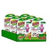 Bloom Repelente - 6 Paquetes de 1 pulsera