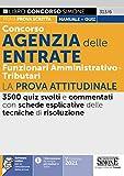 Concorso Agenzia delle Entrate. Funzionari amministrativo-tributari. La prova attitudinale