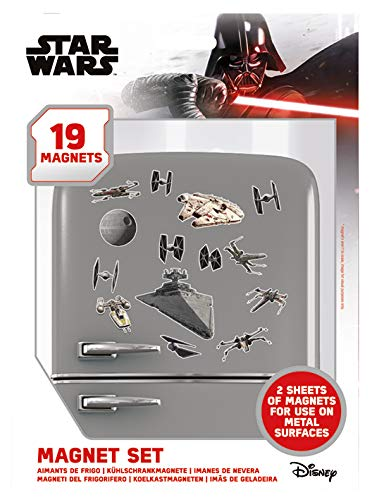 Funko Pop! - Star Wars, Set De Imanes Death Star Battle (Windows)
