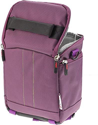 Navitech Étui De Voyage Jumelles Violet - Compatible avec Le TACKLIFE 10 x 42 Jumelles