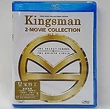 Kingsman 2-Movie Collection Boxset (Region A Blu-Ray) (Hong Kong Version / Chinese subtitled) 皇家特工1+2電影套裝