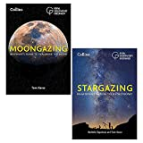 Royal Observatory Greenwich 2 Books Collection Set (Collins Stargazing: Beginners guide to astronomy & Moongazing: Beginner's guide to exploring the Moon)